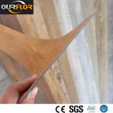 L'usine vendent directement la colle sèche de PVC de dos de PVC de carrelages de vinyle de PVC vers le bas (2mm, 2.5mm, 3mm)