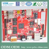 Placa de Circuito de Shenzhen Placa de Circuito do Visor LCD Placa de Circuito do Monitor de Áudio USB SD