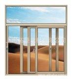 Окно красной вишни алюминиевое сползая/окно спальни