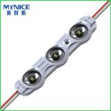 Baugruppe 2835 Einspritzung-LED mit optischem Objektiv für doppelseitige LED-heller Kasten-und Kanal-Zeichen