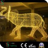 Licht van LEIDENE van het Pretpark het Lichte LEIDENE Kerstmis