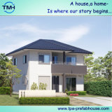 Casa ligera de la estructura de acero de 2 cuentos para vivir