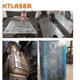 Faser-Laser-Ausschnitt-Maschine 1000W für Ausschnitt-Metall
