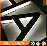 Sinalização LED caracteres luminosa personalizada de logotipo