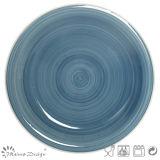 Insieme di pranzo di ceramica del cerchio dipinto a mano caldo di vendita