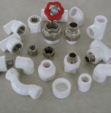 Het Punt van het loodgieterswerk noemt en Plastic van de Grootte Stuiklas 90 Graad PPR de Mannelijke Montage van de Pijp van de Draad van de Elleboog