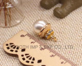 Trinkets dei monili dell'indumento del sacchetto del tasto del tenditore DIY della chiusura lampo del branello della perla