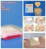 Pansement adhésif médical de mousse de silicone avec la frontière