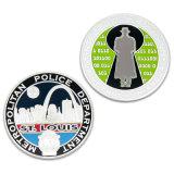 Silver Triathlon Sport Award Souvenir Coin coin Retour tag RFID