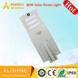 90levou alimentada a energia solar segurança do sensor de movimentos PIR luzes da rua Jardim Solar (SSL-AL-CH80)