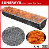 Bruciatore ad alta pressione della fibra del metallo del bruciatore a gas