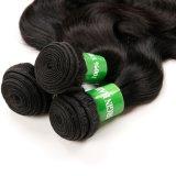 Extensão brasileira de tecelagem do cabelo de Remy do Virgin do cabelo de Unproccessed
