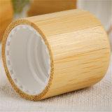 Kosmetische Flaschenkapsel mit hölzerner Schutzkappen-Bambuskappe