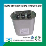 Capacitor Running do motor de alumínio do caso Cbb65 para condicionadores de ar
