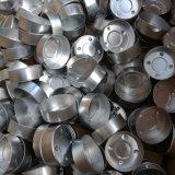기계에게 쉬운 운영을 하는 왁스 Tealight 능률적인 초 알루미늄 컵