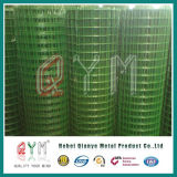 Il PVC del rullo del reticolato di saldatura ha ricoperto la rete metallica saldata galvanizzata Rolls