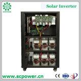 C.C 60-80kVA triphasé de qualité à l'inverseur hybride d'énergie solaire à C.A.