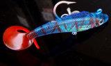 Rouleau de 9.5cm 19g queue Sub-Bait doux de plomb Le plomb des engins de pêche leurres crochet