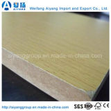 MDF de madera de la melamina del grano del precio barato de la alta calidad para los muebles