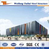 Gymnase préfabriqué chaud de bâti de structure métallique de construction de Sael