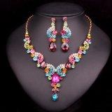 Conjuntos cristalinos de la joyería de la boda de la manera para la novia