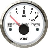 "2 "" 52mm Oil Pressure Gauge Meter 0-10 Bar 12V 24V met Backlight"