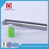 Molino de extremo de la flauta del carburo de la alta precisión solo para las herramientas de corte