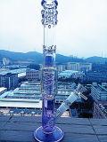 Conduite d'eau en verre matérielle de vente chaude de Borosilicate de parapluie de Hbking avec la qualité