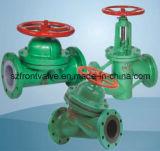 Мембранный клапан плотины ANSI литой стали/чугуна