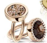 Caja de regalo de joyas para regalo de promoción o encanto colgantes, pendientes, anillos y un pequeño regalo con cierre de la banda elástica