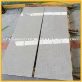 Polieraschenputtel-graue Steinmarmorfußboden-Fliesen für Treppenhaus-Schritt-Treppe