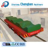Горячая продажа ЭЛЕКТРОДВИГАТЕЛЬ ПОСТОЯННОГО ТОКА тележки с плоским экраном с питанием от батареи железных дорог Китая на заводе