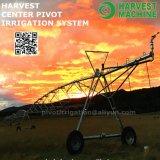 Irrigación de regadera agrícola linear del movimiento lateral