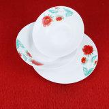 Articoli per la tavola di ceramica del piatto del fiore dipinto a mano