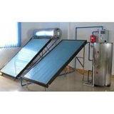 Riscaldatore di acqua calda solare separato pressurizzato della lamina piana