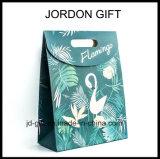 Bolsa de regalo papel Flamingo con velcro