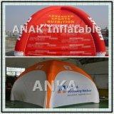 Огнезамедлительный раздувной шатер 4 ног для мероприятий на свежем воздухе