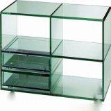 Panneau plat en verre trempé pour meubles