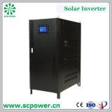 Inverseur solaire hybride triphasé solaire électrique à C.A. de l'inverseur 100kVA