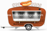 Nourriture mobile mobile de cuisine d'aliments de préparation rapide Van/chariot à vendre