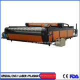 Grande 2000*3000mm pano de vestuário de tecido máquina de corte a laser de CO2