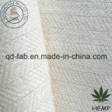 Hanf-/Wolle-Gewebe im Herringbone Muster (QF13-0144)