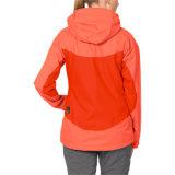 Женщины делают Breathable напольную куртку водостотьким дождя