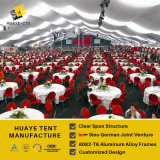 Крупноразмерный шатер для венчания партии случаев