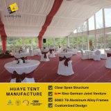 Gran fiesta de boda tienda de campaña para el evento al aire libre, PVC parte tienda