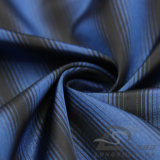 вода 50d 290t & Ветр-Упорной способа куртки полиэфира жаккарда вниз сплетенная курткой ткань 100% нити пряжи Striped катионоактивный (X024)