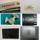 Máquina de la marca del laser de la fibra del metal para la etiqueta de plástico del laser del hardware y de la impresora