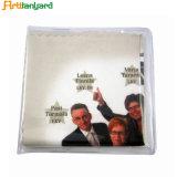 Panno di pulizia personalizzato di vetro di Microfiber