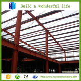 Edificio largo del almacén del marco de acero del palmo de la alta subida prefabricada