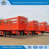 40-80 t Carbo 3 essieux Jeu d'acier/Conseil/côté Fence/ Semi-remorque de camion pour Cargo/fruits ou de bétail/Mineral